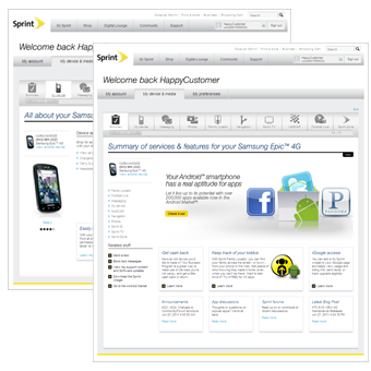 What39;s new @ sprint.com  My Sprint