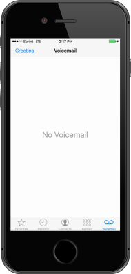 Contenido del dispositivo visual voicemail is now set up m4hsunfo