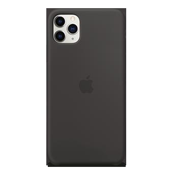 Foto del estuche de silicona Apple - Apple iPhone 11 Pro Max (negro)