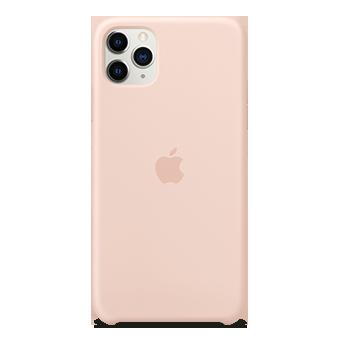 Foto del estuche de silicona Apple - Apple iPhone 11 Pro Max (pink sand)
