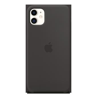 Foto del estuche de silicona Apple - Apple iPhone 11 (negro)