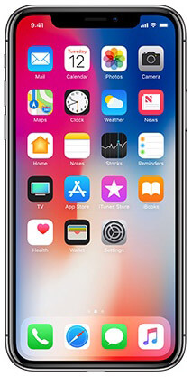 iPhone X Super Retina Display