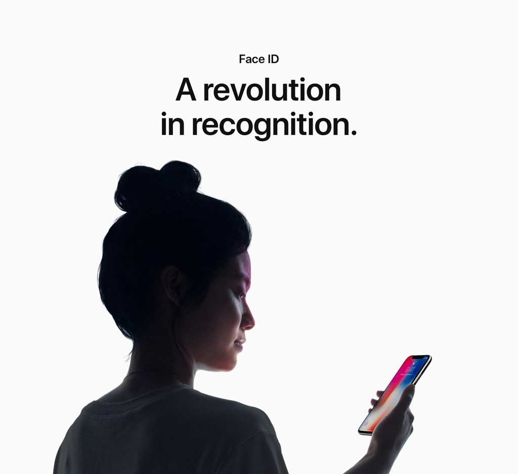 Face ID A revolution in recognition.