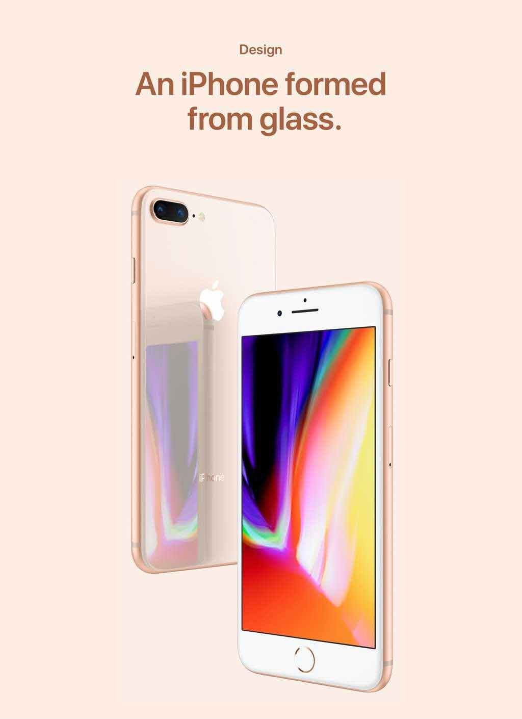 Design An iPhone formed from glass