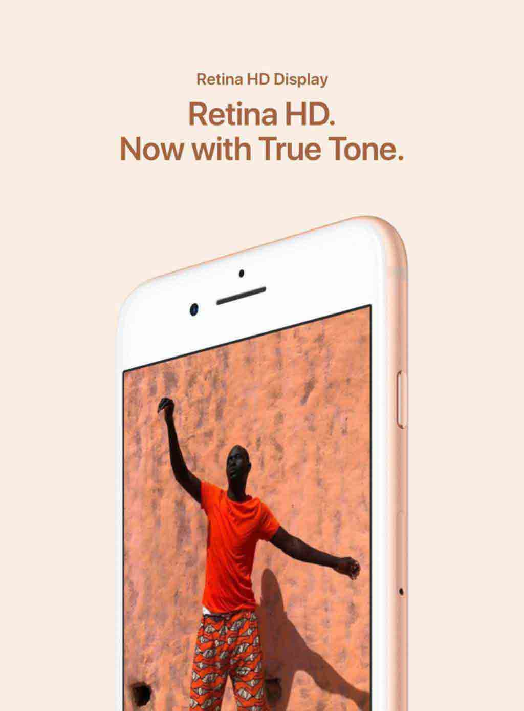 Retina HD. Now with True Tone.