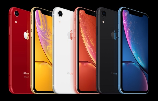 iPhone XR en diferentes colores
