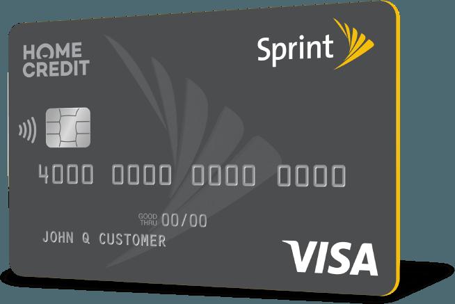 sprint credit card - Visa Credit Card Application