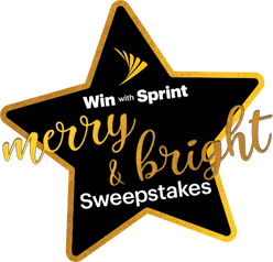 Win with Sprint Merry & bright Sweepstakes