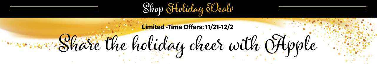 Sprint Holiday Deals, Share the holiday cheer with Apple