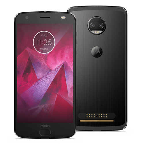 moto z2 force edition and Moto Insta-Share Projector