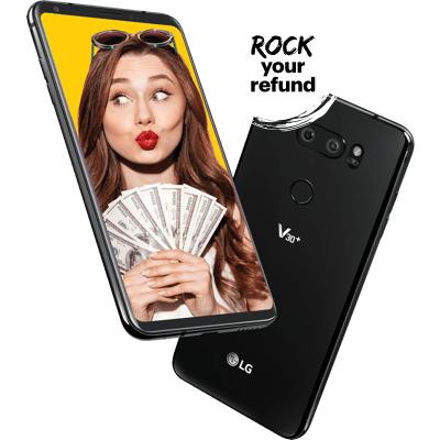 Rock your refund with the LG V30+