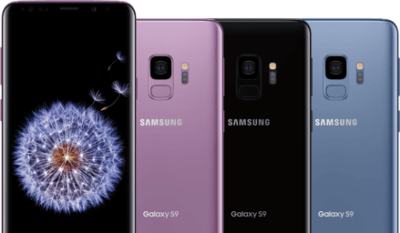 Samsung Galaxy S9 is $5/month with Sprint Flex lease