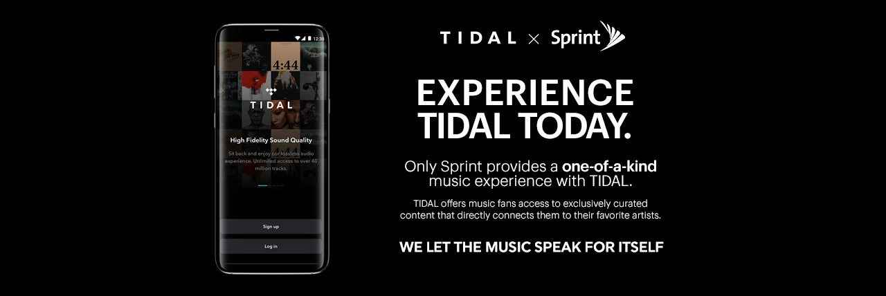 TIDAL Streaming Music Subscription | Sprint