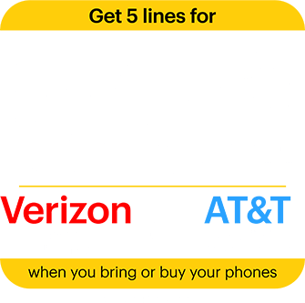 Get 5 lines for 50% off