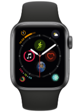 Apple Watch serie 4 con banda deportiva