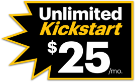Unlimited Kickstart $25/month