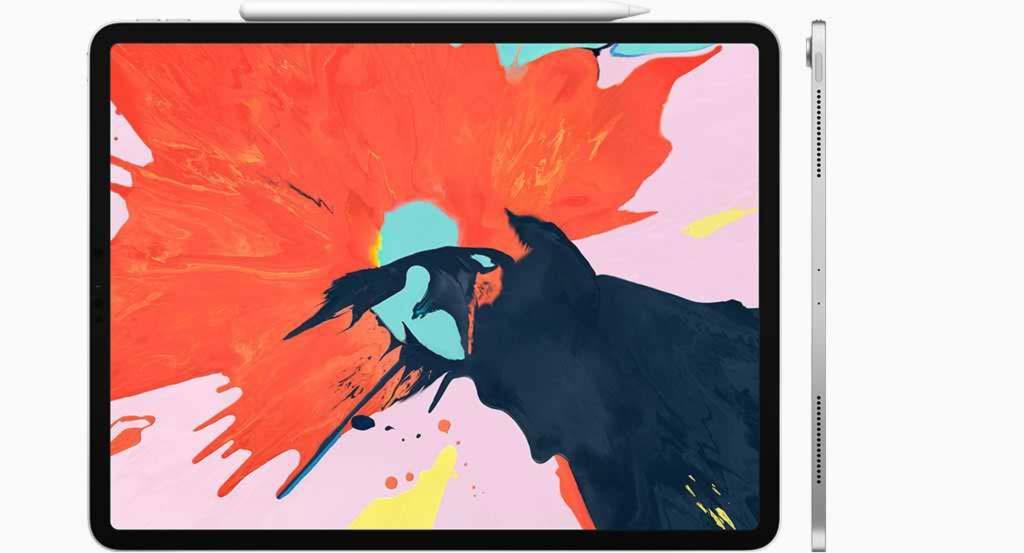Pantalla de la iPad Pro