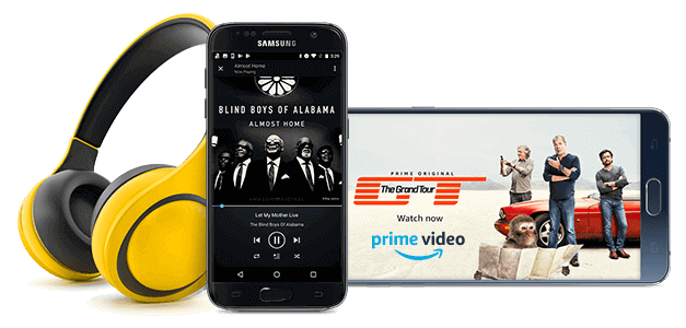 Add Amazon Prime to your Sprint phone service
