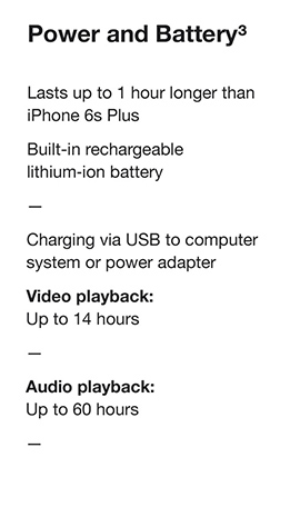 Power and Battery