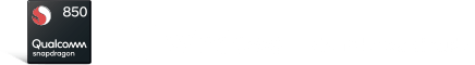 Qualcomm logo and Windows logo
