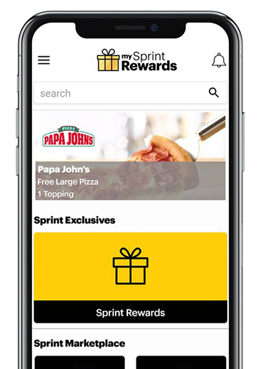My Sprint Rewards Phone