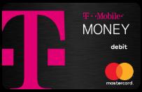 Tarjeta de débito deT-MobileMoney