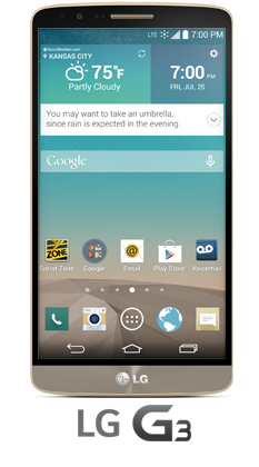 Get The All New Lg G3 Smartphone From Sprint