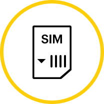 Obtén una tarjeta SIM