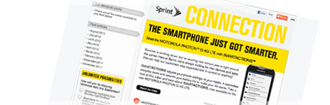Sprint  Connections newsletter