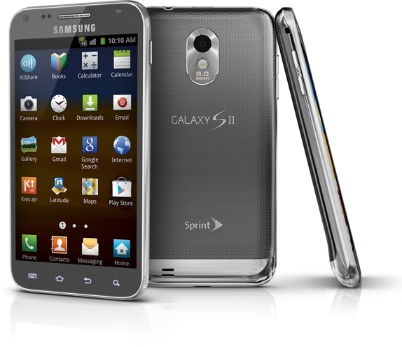 Samsung Galaxy S2 Android Phone From Sprint